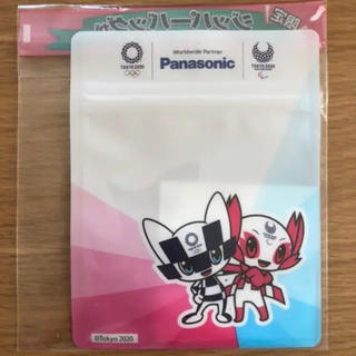 パナソニック(Panasonic)のPanasonic ジッパーバッグ 東京オリンピック(ノベルティグッズ)