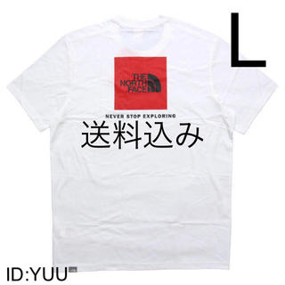 THE NORTH FACE - 【L】THE NORTH FACE ノース RED BOX TEE Tシャツ 白