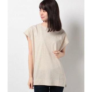 SM2 - サマンサモスモス 空紡糸デザイン Tシャツ キナリ