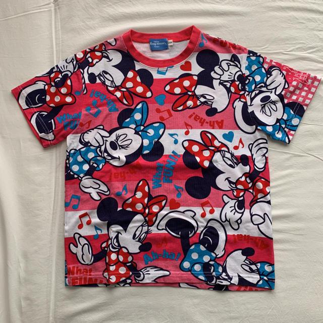 Disney(ディズニー)のディズニー Tシャツ ミニー サイズ150 エンタメ/ホビーのおもちゃ/ぬいぐるみ(キャラクターグッズ)の商品写真