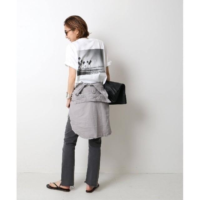 DEUXIEME CLASSE(ドゥーズィエムクラス)の新品 タグ付き ドゥーズィエムクラス Photo T-shirt ホワイトA  レディースのトップス(Tシャツ(半袖/袖なし))の商品写真