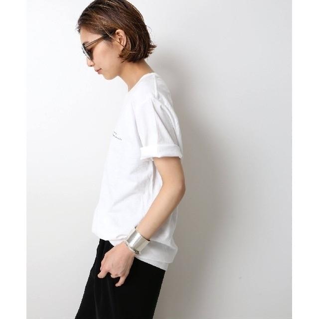 DEUXIEME CLASSE(ドゥーズィエムクラス)の新品 タグ付き ドゥーズィエムクラス Photo T-shirt ホワイトB  レディースのトップス(Tシャツ(半袖/袖なし))の商品写真