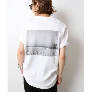 DEUXIEME CLASSE - 新品 タグ付き ドゥーズィエムクラス Photo T-shirt ホワイトB