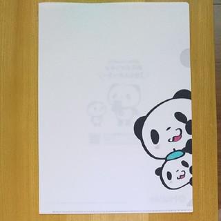 ラクテン(Rakuten)の楽天モバイル クリアファイル お買いものパンダ シール(キャラクターグッズ)