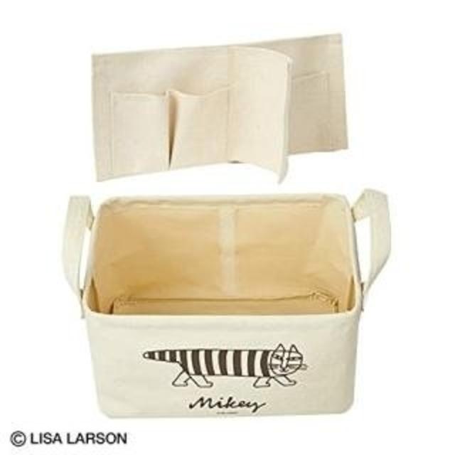 Lisa Larson(リサラーソン)の【新品】リサラーソン スプリング付録 収納ボックス インテリア/住まい/日用品の収納家具(ケース/ボックス)の商品写真