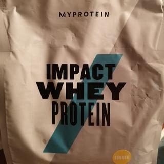マイプロテイン(MYPROTEIN)のmy protein whey protein バナナ味 1キロ(プロテイン)