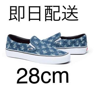 シュプリーム(Supreme)のSupreme Vans Hole Punch Denim Slip-On(スリッポン/モカシン)
