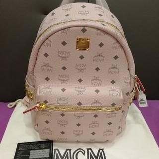 MCM - mcmバック 新作カラーパウダーピンク s