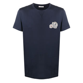 MONCLER - モンクレール ダブルワッペン tシャツ