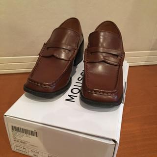 マウジー(moussy)のmoussy 茶色ローファー L size(ローファー/革靴)