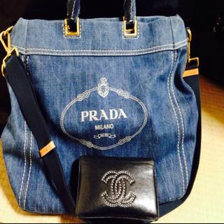 PRADA - PRADA デニムバッグ