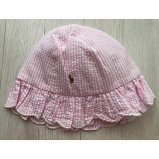 Ralph Lauren - ラルフローレン ベビー帽子(48cm)