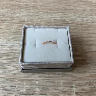エテ(ete)のエテ10kピンクゴールドピンキーリング(リング(指輪))