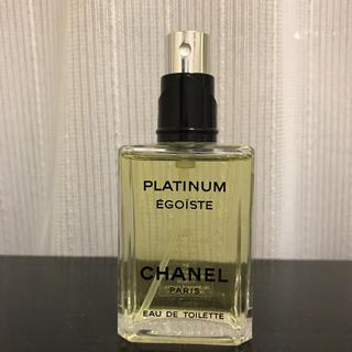 シャネル(CHANEL)のシャネル エゴイスト プラチナム 50ml (香水(男性用))
