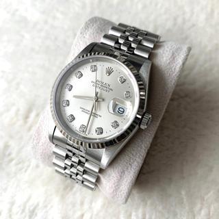 ロレックス(ROLEX)の日ロレオーバーホール後未使用 ロレックス デイトジャスト 16234 10PD(腕時計(アナログ))