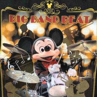 Disney - ディズニーシー ビッグバンドビート 実写巾着 レア