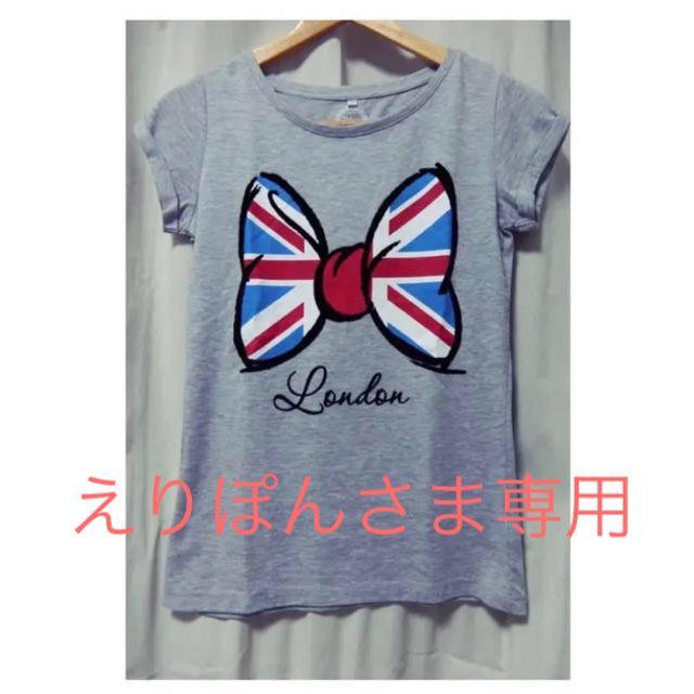 Disney(ディズニー)のロンドン ディズニーストアー 購入ミニーTシャツ XSサイズ レディースのトップス(Tシャツ(半袖/袖なし))の商品写真