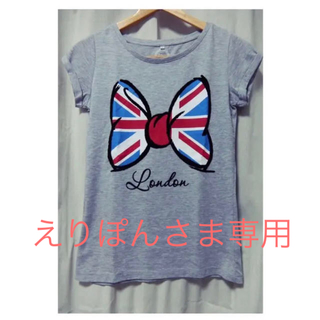 Disney - ロンドン ディズニーストアー 購入ミニーTシャツ XSサイズ