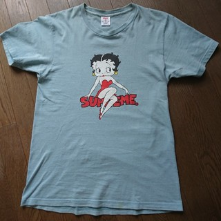 Supreme - シュプリーム ベティ Tシャツ M ライトブルー