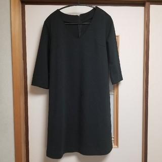 GU - GU 万能黒ワンピース