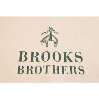 Brooks Brothers - 新品☆BROOKS BROTHERS ホワイト トートバック 文字グリーン