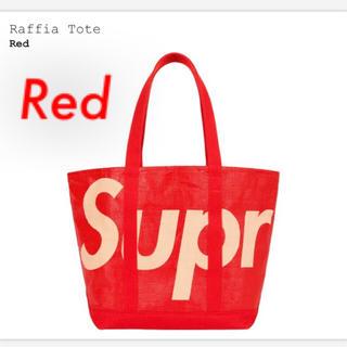Supreme - Supreme Raffia Tote Redトートバッグ