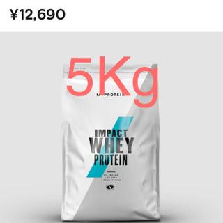 マイプロテイン(MYPROTEIN)のマイプロティン インパクト ホエイプロテイン ストロベリークリーム 5kg(プロテイン)