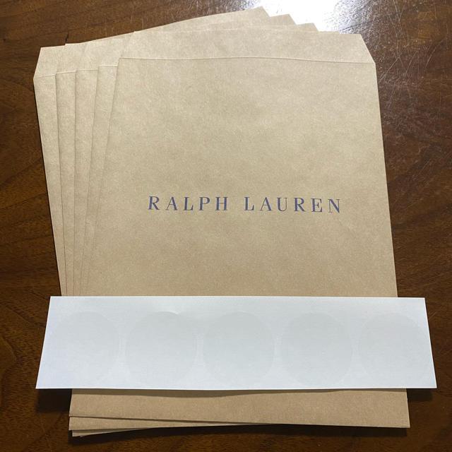 Ralph Lauren(ラルフローレン)の1.🐎ラルフローレンハンカチ 5枚セット🐎 レディースのファッション小物(ハンカチ)の商品写真