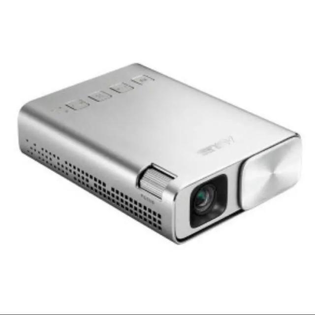 ASUS(エイスース)のASUS LED プロジェクター ZenBeam E1-J ポケット スマホ/家電/カメラのテレビ/映像機器(プロジェクター)の商品写真
