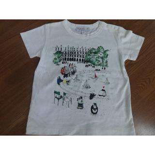 アニエスベー(agnes b.)のお値下げ☆美品☆アニエスベー Tシャツ ペンギンプリント 4ans(Tシャツ/カットソー)