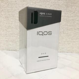 アイコス(IQOS)のiQOS3 DUO ベルベットグレー 新品 未登録(タバコグッズ)