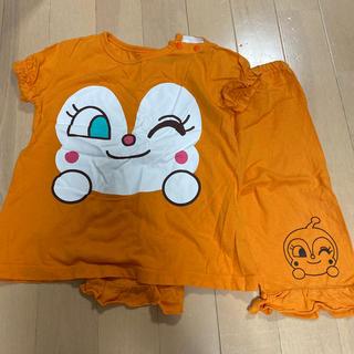 バンダイ(BANDAI)のドキンちゃん半袖パジャマ上下セット(パジャマ)