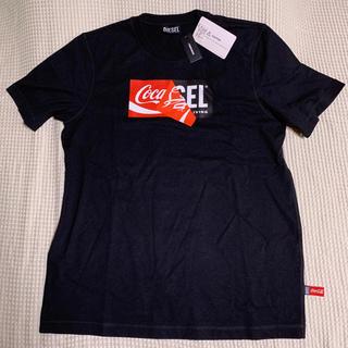 ディーゼル(DIESEL)のディーゼル×コカ・コーラ コラボTシャツ カラー黒 サイズM 未使用(Tシャツ/カットソー(半袖/袖なし))
