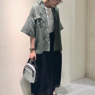 ニコアンド(niko and...)のniko and…CPO風ビッグシャツ(シャツ/ブラウス(半袖/袖なし))