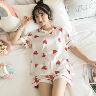 ワケアリ!格安!ハートのパジャマ♡大きめでゆったり♡ルームウェア♡部屋着♡(パジャマ)