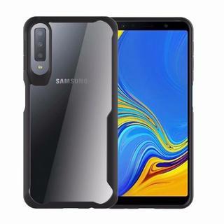 SAMSUNG - SAMSUNG Galaxy A7 TPU+PC ハイブリッドケース ブラック
