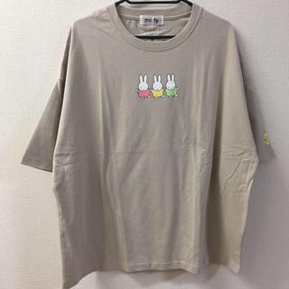 しまむら - 【新品タグ付き】ミッフィー 半袖 Tシャツ ベージュ 3L