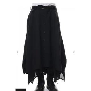 ヨウジヤマモト(Yohji Yamamoto)の↑求↑ Yohji Yamamoto バットスカート(その他)