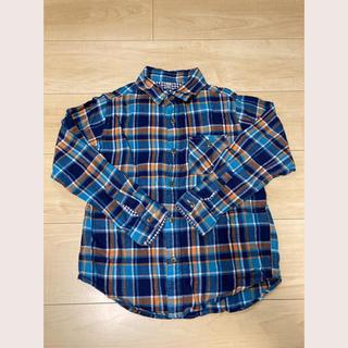 ユニクロ(UNIQLO)のチェックシャツ ユニクロ 130(その他)