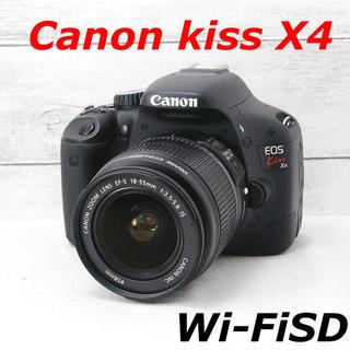 Canon - ❤️シャッター回数わずか516枚❤️スマホ転送❤️Canon kiss X4