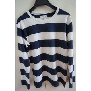 agnes b. - agnes b. ボーダーTシャツ(長袖)