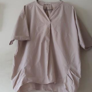 サマンサモスモス(SM2)のスキッパープルオーバー(シャツ/ブラウス(半袖/袖なし))