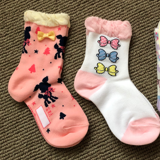 靴下☆3足セット キッズ/ベビー/マタニティのこども用ファッション小物(靴下/タイツ)の商品写真