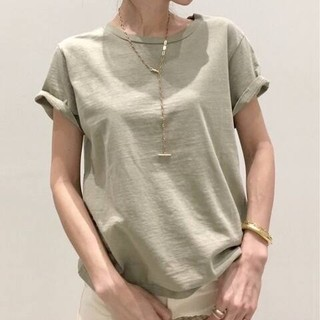 L'Appartement DEUXIEME CLASSE - 新品未使用タグ付 REMI RELIEF Compact Tシャツ カーキ
