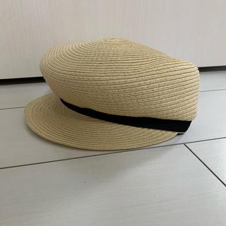 ジーユー(GU)のGU マリンキャップ(麦わら帽子/ストローハット)