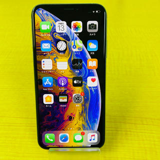 Apple - 美品中古!iPhone Xs silver 64GB SIMフリー 4
