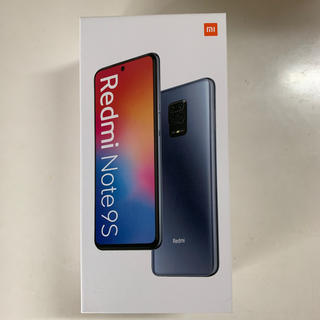 ANDROID - Redmi Note 9S  6GB RAM 128GB 国内版 ホワイト