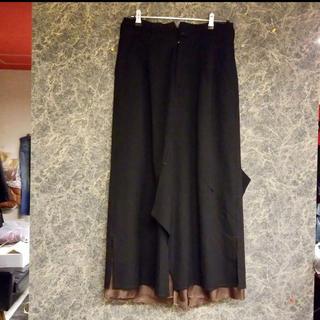 ヨウジヤマモト(Yohji Yamamoto)のsulvamスカートパンツ(スラックス)