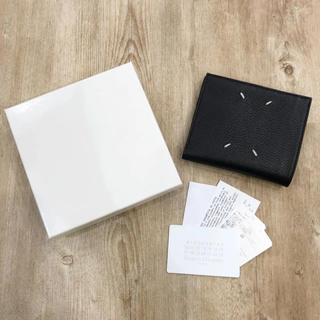 マルタンマルジェラ(Maison Martin Margiela)のMaison Margiela メゾン マルジェラ 折り財布 ブラック(折り財布)