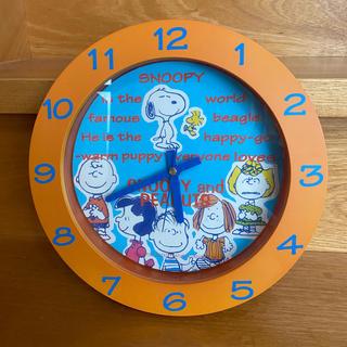 スヌーピー(SNOOPY)のスヌーピー  SNOOPY 壁かけ時計(掛時計/柱時計)